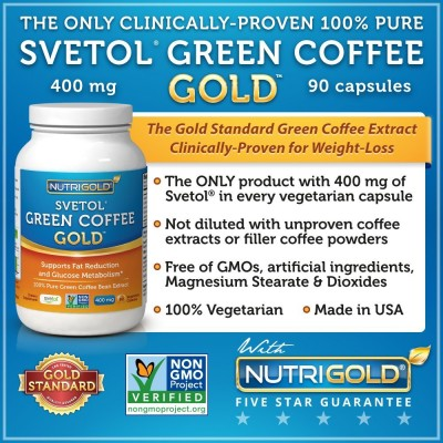 SVETOL Green Coffee Gold