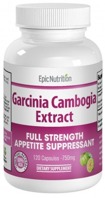 Epic Nutrition Garcinia Cambogia Extract 750mg