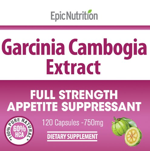 Epic Nutrition Garcinia Cambogia Extract 750mg