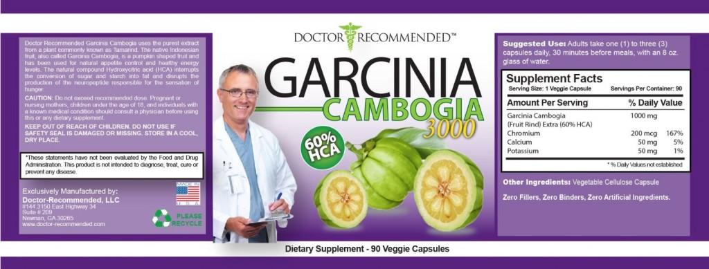 Garcinia Cambogia 3000mg