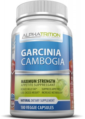 Garcinia Cambogia Extract with 3,000mg Daily Dosage and 180 Veggie Capsules