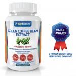 Pure Green Coffee Bean Extract 800mg Pills Dr Oz Recommended