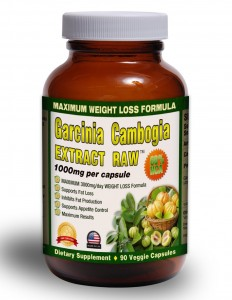 Pure Garcinia Cambogia Extract RAW 1000 mg